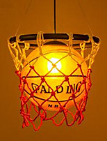 American untry Craft Art Deco asketball Chandelier