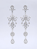 Beautiful Crystal Tassels Earrings