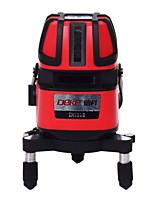 Deke® 5-строчный инфракрасный лазерный нивелир 635 нм