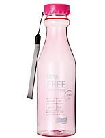 401-500ml candy cor verão garrafa de vapor de plástico copo de água portátil