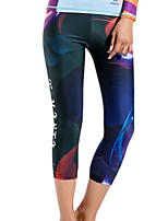 Women's Wetsuit Pants Breathable Quick Dry Terylene Diving Suit Bottoms-Diving Spring Summer Fashion