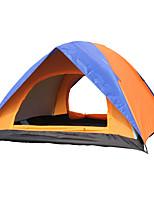 2 personnes Tente Double Tente pliable Une pièce Tente de camping <1000mm Fibre de verre OxfordRésistant à l'humidité Etanche