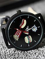 Women's Fashion Watch Quartz Leather Band Black Brand