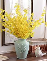 10 Une succursale Soie Orchidées Fleurs artificielles