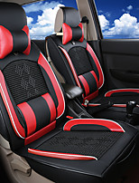 Leather SilkIce silkLeatherwearBusiness Car 7 Seater Van Seven Car seat Cushion Leather Four Seasons Cushion Seat Cover