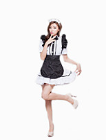 Cosplay Costumes Party Costume Masquerade Maid Costumes Oktoberfest/Beer Cosplay Waiter/Waitress Movie Cosplay Dress Apron Headwear
