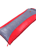 Sleeping Bag Rectangular Bag Single 15 T/C Cotton 220X80 Camping Moistureproof/Moisture Permeability Keep Warm 自由之舟骆驼
