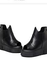Damen-Loafers & Slip-Ons-Lässig-PULeuchtende Sohlen-Schwarz