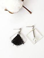 Boucles d'oreille goujon Mode euroaméricains Alliage Forme Géométrique Bijoux Pour Quotidien 1 Paire