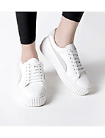 Women's Athletic Shoes Summer Winter Mary Jane Customized Materials Athletic Flat Heel White