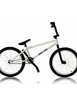 BMX велосипеды Велоспорт Others 20 дюймы Обычные Фиксированный Стальная рама Без амортизации Моноблок Противозаносный PVC Сталь
