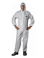 Sata Anti-static Clothing XXL Breathable Film Dust-proof And Anti-static Paint Chemical Protective Clothing Overalls With Cap Garment /1