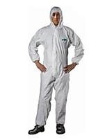 Sata anti-statique xxl film respirant anti-poussière et anti-statique chemise de protection des vêtements de protection chimique avec