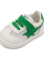 Boys' Sneakers Spring Summer First Walkers Tulle Casual Flat Heel Green Red Black
