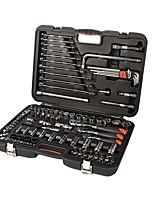 Shefflied® s010001 120pcs professioneller Hausbesitzer Schraubenschlüssel Werkzeugsatz mit Werkzeugkasten