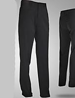 Homme Sans manche Golf Pantalon/Surpantalon Respirable Design Anatomique Confortable Noir Vert Bleu Vert de forêt Golf Sport de détente