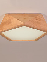 Flush Mount   Modern/Contemporary Feature for LED Wood/Bamboo Living Room Bedroom Dining Room Kitchen Study Room/Office