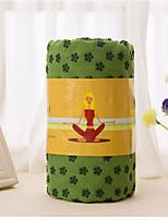 Serviette de yoga (24 x 72) - serviettes antidérapantes antidérapantes en microfibres