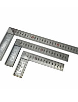 GREAT WALL PRECISION® 300mm 90 Degree L Shape Stainless Steel Angel Ruler Tool (One Piece)