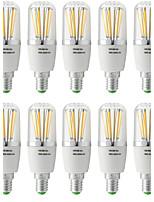 5W E14 Lâmpadas de Filamento de LED T 6 COB 500 lm Branco Quente Branco Frio V 10 pçs