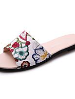 Damen-Slippers & Flip-Flops-Outddor-Schweineleder-Flacher Absatz-Komfort-