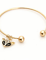 Women's Cuff Bracelet Fashion Alloy Circle Jewelry For Party Special Occasion Gift 1 pcs