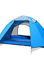 LYTOP/飞拓 2 человека Световой тент Двойная Складной тент Однокомнатная Палатка Стекловолокно ОксфордВодонепроницаемый Воздухопроницаемость