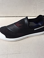 Herren-Sneaker-Lässig-PU-Blockabsatz-Fersenriemen-
