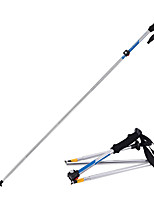 5 Nordic Walking Poles 1 pcs 135cm (53 Inches) Damping Foldable Light Weight Adjustable Fit Aluminum Alloy 7075Camping & Hiking Traveling