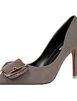 Heels Spring Summer Fall Comfort Leatherette Office & Career Party & Evening Dress Stiletto Heel Buckle