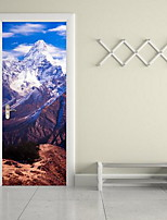 Paisaje Pegatinas de pared Calcomanías 3D para Pared Calcomanías Decorativas de Pared,Vinilo Material Decoración hogareñaVinilos