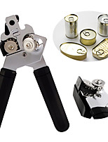 1Pcs Heavy Duty Stainless Steel Professional Tin Can Opener Kitchen Craft Easy Grip
