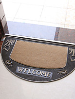 1 PC  The Creative Personality Of The Thickened Bedroom Door Mat Anti-skid Mat Carpet