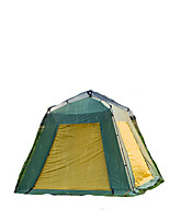 >8 persons Tent Double Automatic Tent One Room Camping Tent 2000-3000 mm Aluminium Oxford MeshMoistureproof/Moisture Permeability