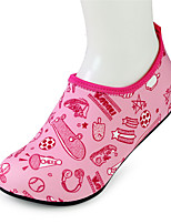 Girls' Loafers & Slip-Ons Spring Summer Light Soles Fabric Outdoor Flat Heel Light Pink Blue Upstream shoes