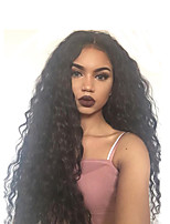 Water Wave Lace Front Wigs with Baby Hair Braziian Virgin Human Hair for Black Women 130 Density Brazilian Lace Front Wigs Natural Hairline Instock