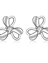XU Women Fashionable Elegant FlowerSstud Earrings