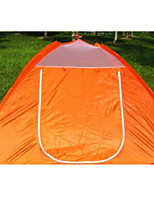 3-4 persons Tent Single Automatic Tent One Room Camping Tent 1000-1500 mm Fiberglass OxfordMoistureproof/Moisture Permeability Waterproof