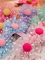 Dog Hair Accessories Dog Clothes Summer Flower Cute Rainbow