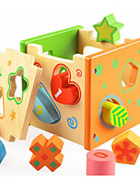 Building Blocks Educational Toy For Gift  Building Blocks Square Wood 2 to 4 Years 5 to 7 Years Toys
