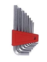 Pb outils suisses l type tête plate six coins 8 pièces / 1 ensemble