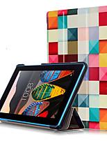 Housse d'impression pour lenovo tab3 onglet 3 7 essentiel 710 710f tablette tb3-710f avec film protecteur
