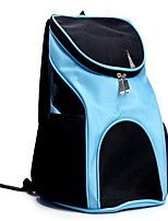 Cat Dog Carrier & Travel Backpack Pet Carrier Portable Breathable Solid Black Blue Red Brown