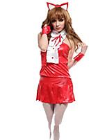 Un Pezzo/Vestiti Dolce Lolita Cosplay Vestiti Lolita Di tendenza Manica corta Corto / Mini Abito Per