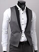 2012 nouveau vêtement simple de contrôle d'accès tout-match couleur décoration veste hommes p50 5893