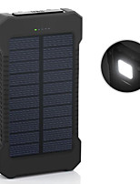 новый 6000mAh ddual-USB солнечной энергии мобильный мощность