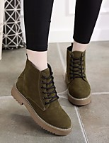 Women's Sneakers Spring Comfort PU Casual Green Black
