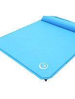 Inflated Mat Camping Beach Traveling Outdoor Indoor Green Sky blue PVCMoistureproof/Moisture Permeability Waterproof Breathability