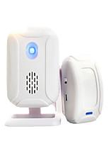 Lingang Split Wireless Infrared Shop Welcome Guests Ding Dong Welcome To The Sensor Doorbell Burglar Alarm 1 Host 1 Sensor