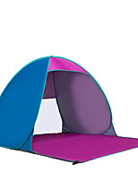 3-4 persons Tent Single Automatic Tent One Room Camping Tent Stainless Steel Portable-Camping Traveling-